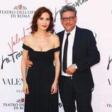 Sergio Castellitto y Margaret Mazzantini en el estreno de 'La Traviata'  en Roma