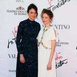 Alice Rohrwacher y Alba Rohrwacher en el estreno de 'La Traviata'  en Roma