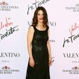 Valentina Cervi en el estreno de 'La Traviata'  en Roma