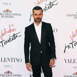 Luca Argentero en el estreno de 'La Traviata'  en Roma