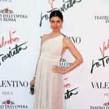 Vittoria Puccini en el estreno de 'La Traviata'  en Roma