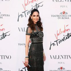 Eugenia Silva en el estreno de 'La Traviata'  en Roma