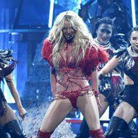 Britney Spears en su actuación en los Premios Billboard 2016