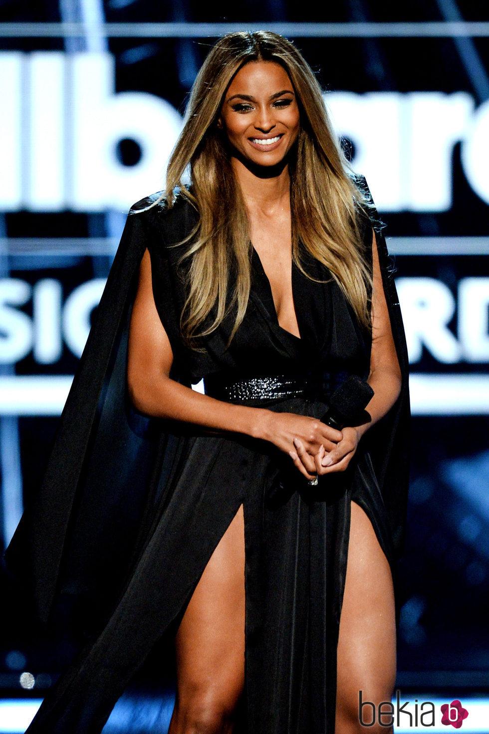 Ciara en la gala de los Premios Billboard 2016