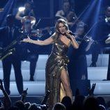 Céline Dion en su actuación de los Premios Billboard 2016