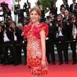 Clémence Poésy en la clausura del Festival de Cannes 2016