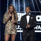 Ciara y Ludacris en los Premios Billboard 2016