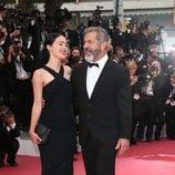 Mel Gibson y Rossalind Ross muy cariñosos en la clausura del Festival de Cannes 2016