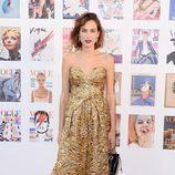 Alexa Chung en la fiesta del 100 aniversario de Vogue en Londres