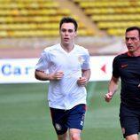 Louis Ducruet corriendo en un partido benéfico en Mónaco