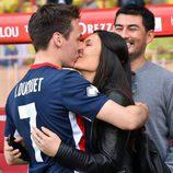 Louis Ducruet besa a Marie Chevallier en un partido benéfico en Mónaco