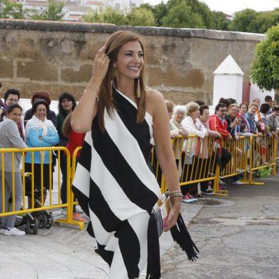 Mariló Montero durante la boda de Marta Cadaval en Sevilla