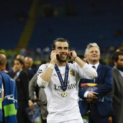 Gareth Bale en la final de la Champions League 2016