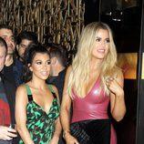 Khloe y Kourtney Kardashian en la fiesta de cumpleaños de Scott Disick en Las Vegas.