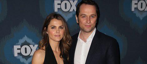 Keri Russell y Matthew Rhys en un evento de FOX