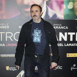 Carlos Areces en el estreno de 'Nuestros Amantes'