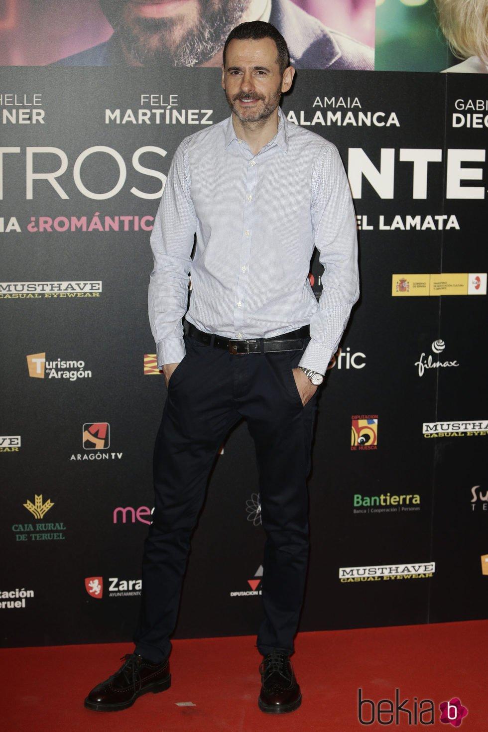 Luis Miguel Seguí en el estreno de 'Nuestros Amantes'