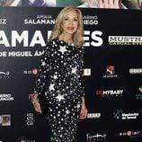 Carmen Lomana en el estreno de 'Nuestros Amantes'