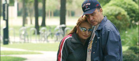 Rocío Jurado y José Ortega Cano en el Hospital Andersson de Houston