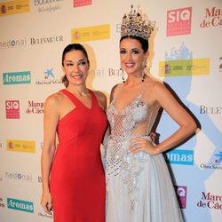 Raquel Revuelta y Noelia López en la presentación de la colección de María José Suárez en pasarela SIQ en Sevilla