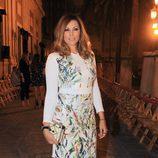 Raquel Rodríguez  en la presentación de la colección de María José Suárez en pasarela SIQ en Sevilla