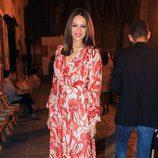 Eva González  en la presentación de la colección de María José Suárez en pasarela SIQ en Sevilla