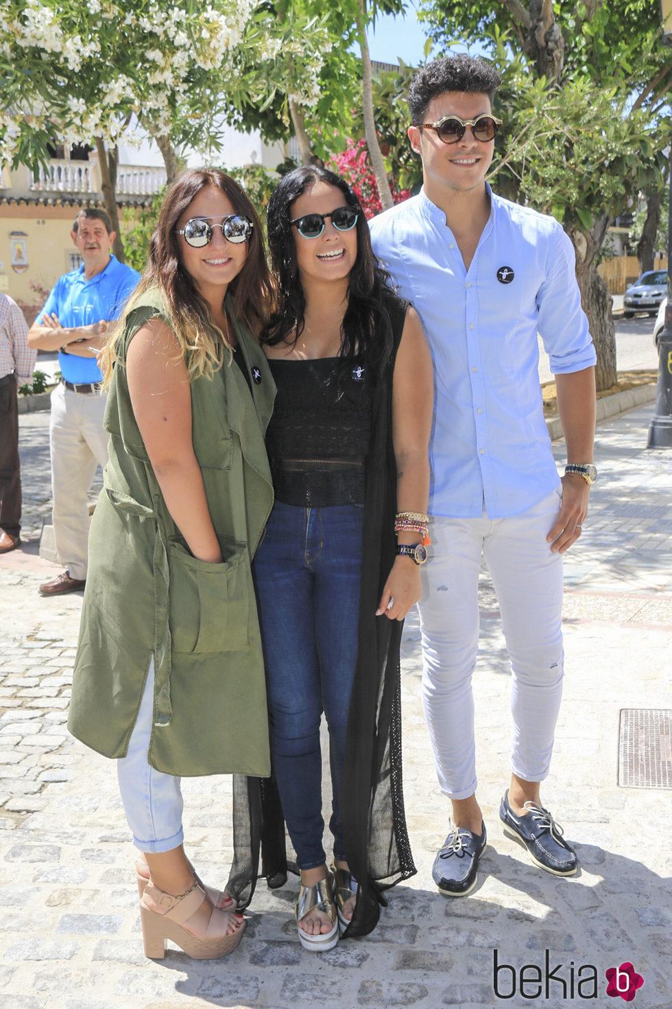 Rocío Flores, Gloria Camila y Kiko Jiménez en el 10 aniversario de la muerte de Rocío Jurado