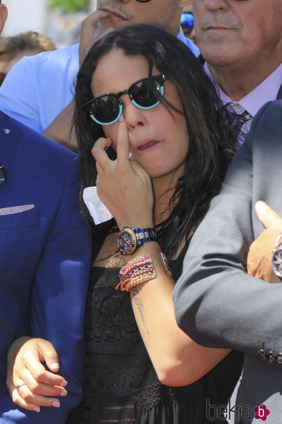 Gloria Camila muy emocionada en el 10 aniversario de la muerte de Rocío Jurado