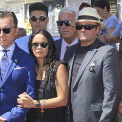 José Ortega Cano, Gloria Camila, Amador Mohedano y Rocío Flores en el 10 aniversario de la muerte de Rocío Jurado
