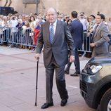 El Rey Juan Carlos en la corrida de la Beneficencia 2016