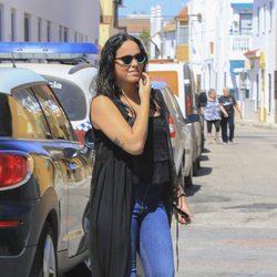 Gloria Camila en el 10 aniversario de la muerte de Rocío Jurado