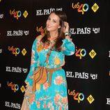 Paula Echeverría durante la gira 'One on one' de PaulMcCartney en Madrid