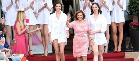 María Teresa Campos durante la 'Summer Fashion Runway' en Málaga