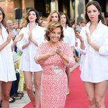 María Teresa Campos durante la 'Summer Fashion Runway'