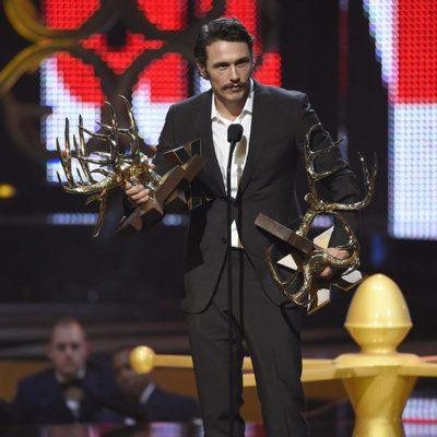 James Franco galardonado en la gala de los Guys Choice 2016
