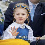 Estela de Suecia en el Día Nacional de Suecia 2016