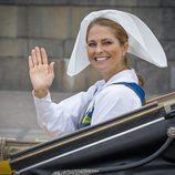 Magdalena de Suecia en el Día Nacional de Suecia 2016