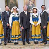 La Familia Real Sueca en el Día Nacional de Suecia 2016