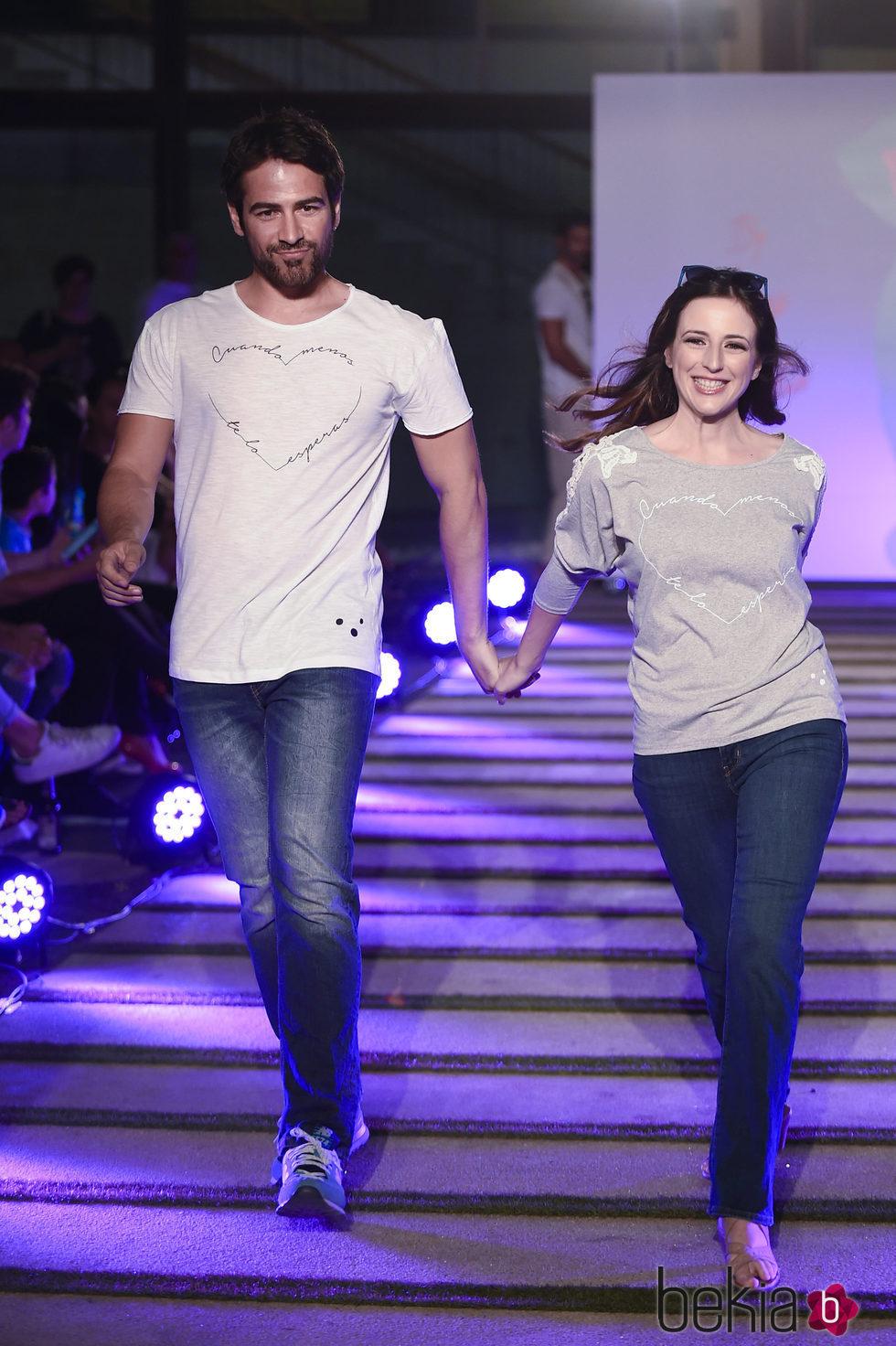 Alejandro Tous y Ruth Nuñez en el segundo aniversario de By Nerea Garmendia