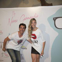 Patricia Montero y Álex Adrover celebrando el segundo aniversario de By Nerea Garmendia