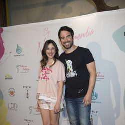 Alejandro Tous y Ruth Nuñez celebrando el segundo aniversario de By Nerea Garmendia