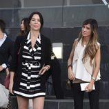 Vania Millán y Marta González en el funeral del hermano de Ivonne Reyes