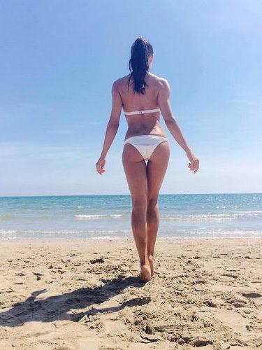 Pilar Rubio luciendo cuerpazo en bikini para arrancar el verano 2016
