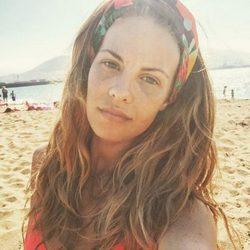 Jessica Bueno estrenando el verano 2016 en la playa de Getxo