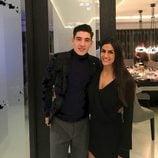 Héctor Bellerín y su novia Berta Requeno