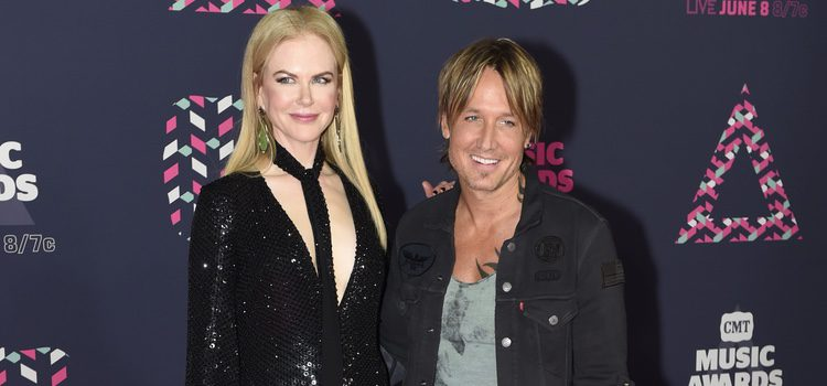 Nicole Kidman y Keith Urban en los CMT Music Awards 2016