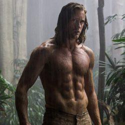 Alexander Skarsgard con el torso desnudo en 'La Leyenda de Tarzán'
