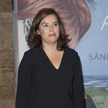 Soraya Sáenz de Santamaría en los premios Planeta en Madrid