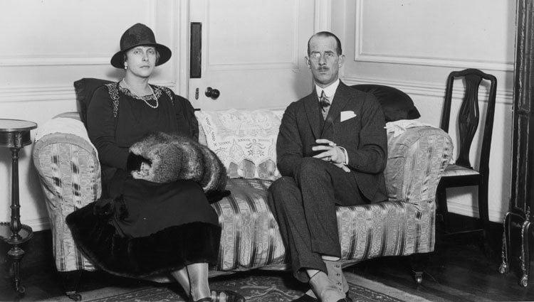 Alicia de Battenberg y Andrés de Grecia, padres del Duque de Edimburgo