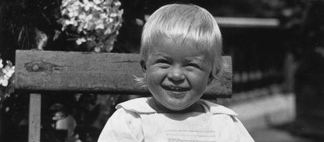 El Duque de Edimburgo cuando era pequeño